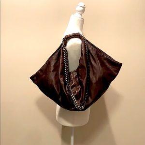 Junior Drake Brown Leather Bag